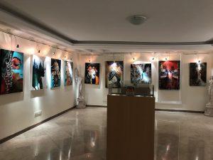نمایشگاه گروه هنرجویان ۷