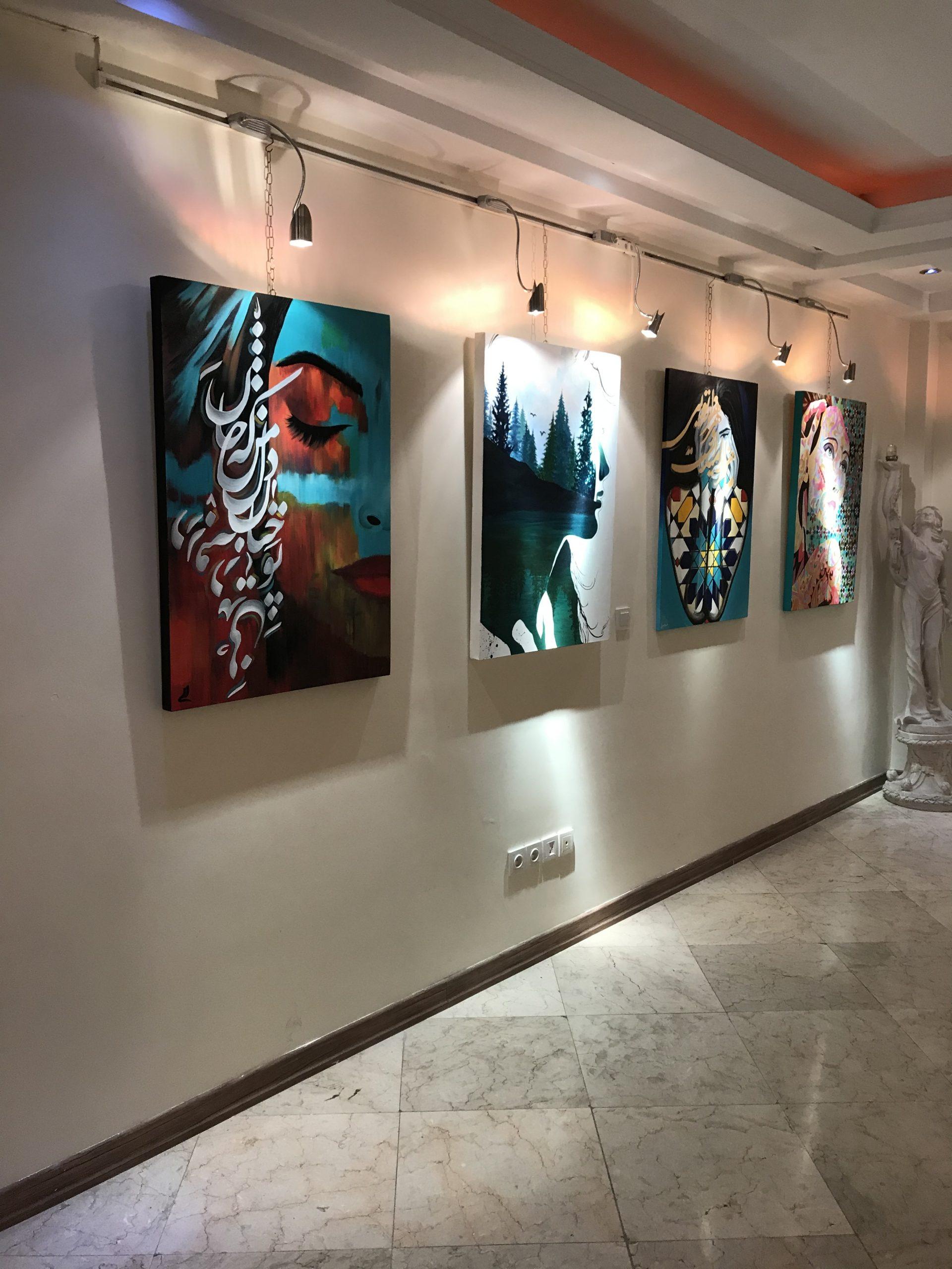 نمایشگاه گروه هنرجویان ۶