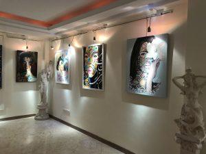 نمایشگاه گروه هنرجویان ۵