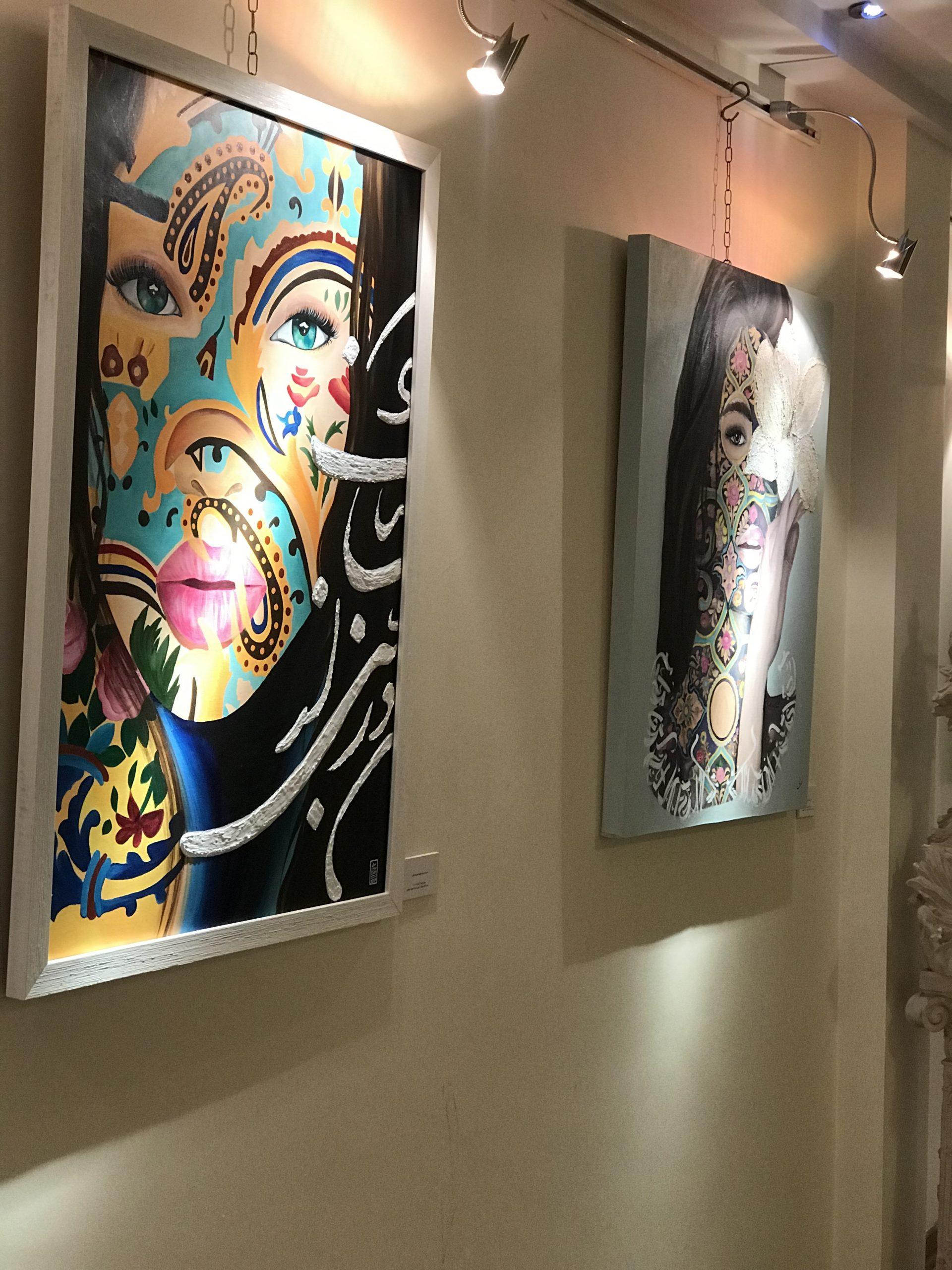 نمایشگاه گروه هنرجویان ۳