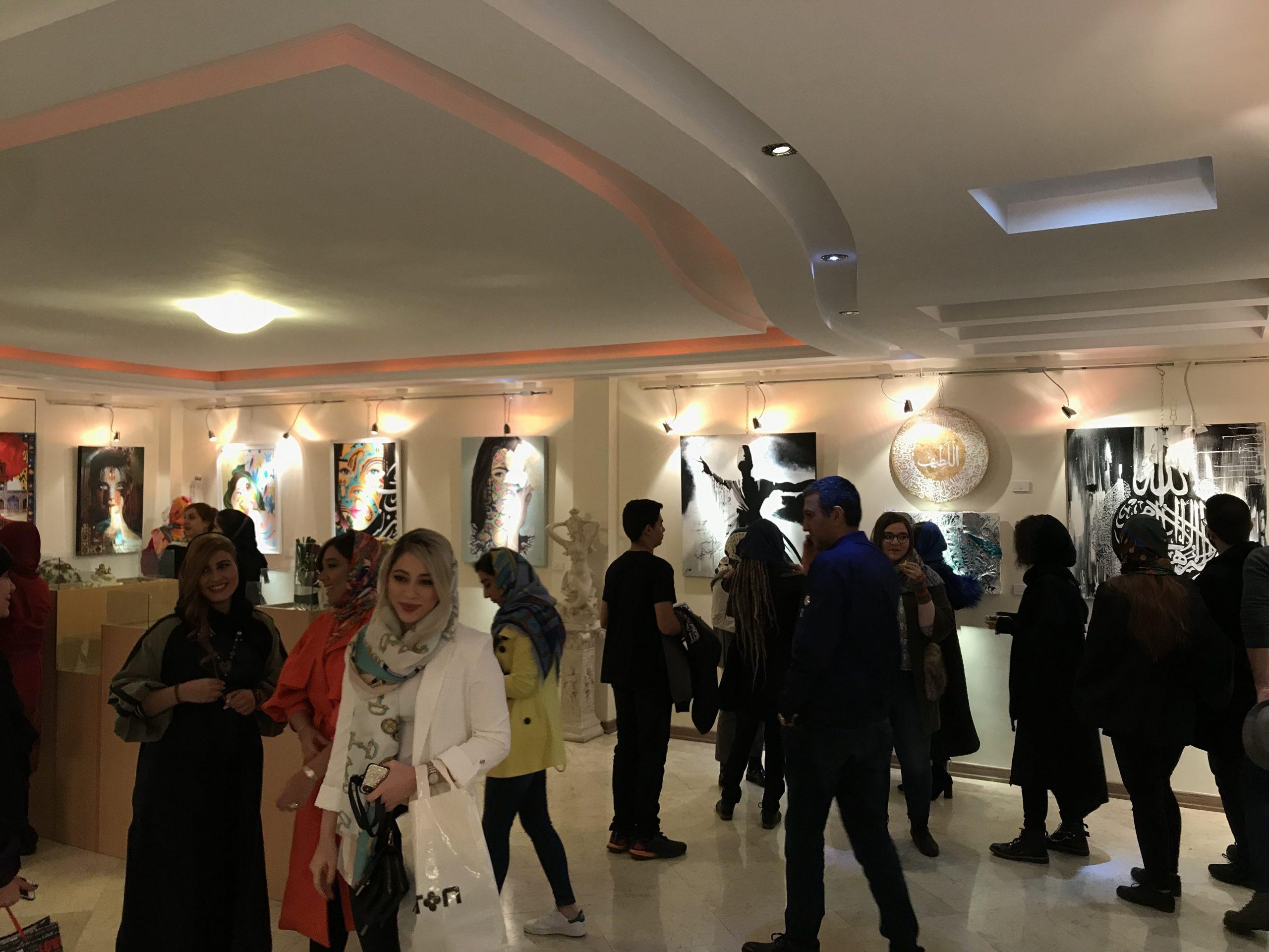 نمایشگاه گروه هنرجویان ۲